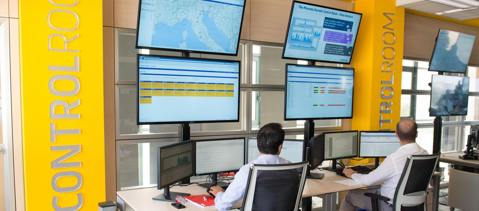Control Room - Monitoring Center